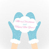 The Christmas card Royalty Free Stock Image