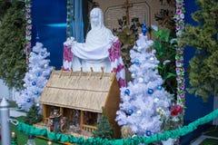 Christmas card photo Stock Image