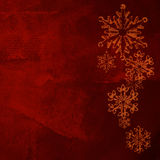 Christmas card red background Stock Image