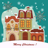 Christmas card . Royalty Free Stock Photography