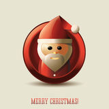 Christmas card with Santa Claus Royalty Free Stock Photo