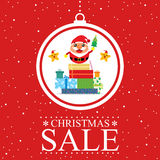 Christmas card Santa Claus Royalty Free Stock Photo