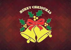 Christmas card. Simple Christmas card or background for you Stock Images