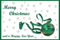 Christmas Card 07 Royalty Free Stock Photos