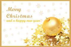 Christmas Card 10 Royalty Free Stock Photography