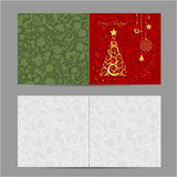 Christmas card, sketch for your design Royalty Free Stock Image