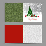 Christmas card, sketch for your design Royalty Free Stock Photo