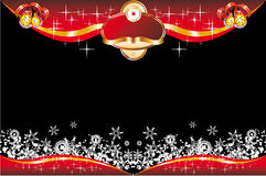 Christmas Card with space for text Royalty Free Stock Images