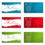 Christmas Card Template Stock Image