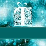 Christmas card template. EPS 8 Stock Photo