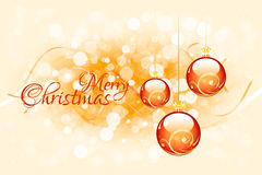 Christmas Card Template Stock Images