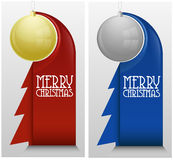 Christmas card / template. Card with place for your text Royalty Free Stock Photos