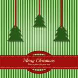 Christmas card / template. Card with place for your text Royalty Free Stock Image