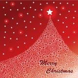 Christmas card template vector Stock Photos
