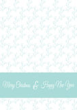 Christmas card template Royalty Free Stock Image