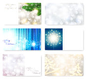 Christmas card templates Royalty Free Stock Photo