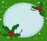 Christmas card for text Imágenes de archivo libres de regalías