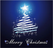 Christmas Card Three for Greetings background Royalty Free Stock Images