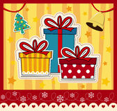Christmas card vector Stock Photo