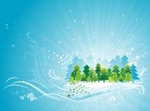 Christmas card, vector Royalty Free Stock Photos