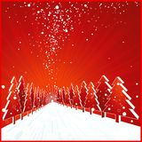 Christmas card, vector Royalty Free Stock Photo