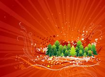 Christmas card, vector Royalty Free Stock Photos