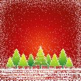 Christmas card, vector Stock Photos