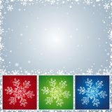 Christmas card, vector Stock Photography