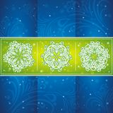 Christmas card, vector Royalty Free Stock Images