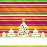 Christmas card, vector Royalty Free Stock Image