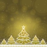 Christmas card, vector Stock Image