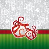 Christmas card vector illustration Stock Photos