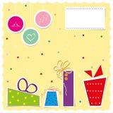 Christmas card vector illustration Stock Photography