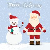 Christmas card in vector Stock Photography