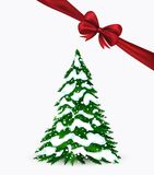 Christmas card in vector. Christmas simple card in. This is file of EPS10 format Royalty Free Stock Photos