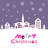 Christmas card136 Royalty Free Stock Photography