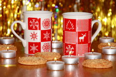 Christmas Card : Xmas Decoration - Stock Photos Royalty Free Stock Photos
