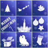 Christmas cards Stock Photography
