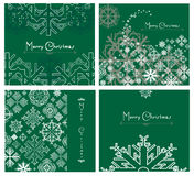 Christmas cards Stock Images