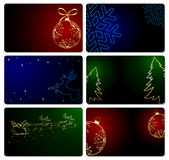 Christmas cards Royalty Free Stock Image