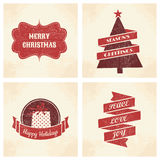 Christmas Cards Collection Royalty Free Stock Photography