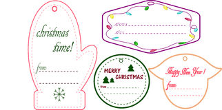 Christmas cards stock photos
