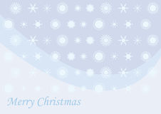 Merry Christmas, beautiful Christmas card. Christmas vector illustration. Christmas cards with delicate flakes. Holiday background with snow flakes. Graphic Stock Photography