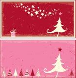 Christmas cards. Design, vector illustration Stock Photos