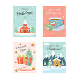 Christmas Cards 4 Royalty Free Stock Photography