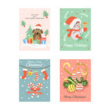 Christmas Cards 7 Stock Photography