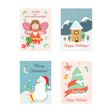 Christmas Cards 10. Here are beautiful Christmas Cards, just on time for the holiday season...Hope you enjoy them and have a very Merry Christmas Royalty Free Stock Image