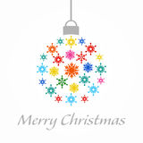 Christmas cards. Illustration and vectors of Christmas cards Royalty Free Stock Image