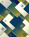 Christmas cards - seamless pattern Royalty Free Stock Photography