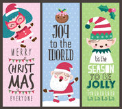 Christmas cards Stock Photos